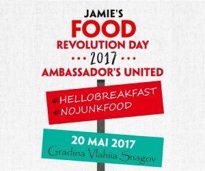 Gabriella Pascaru Bisi, foodrevolution ambassador, food revolution day ambassador united 2017, 20  mai 2017