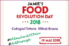 Food Revolution Day 2018, Gabriella Pascaru Bisi, Foodrevolution ambassador